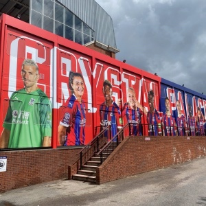 Portable Building Wrap for Crystal Palace F.C.
