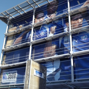 Building Wrap Rugby World Cup
