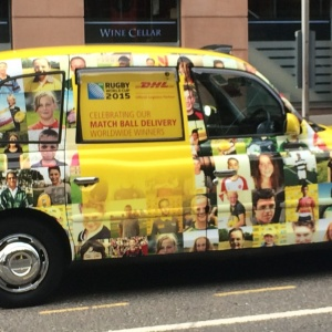 Taxi Advertising | Side Window