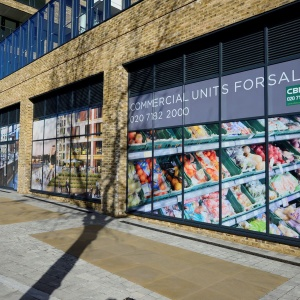 Retail Window Graphics | Empty Units
