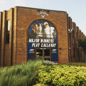 Entrance Graphics Callaway Golf Headquarters