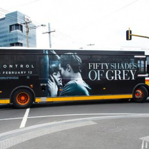 Promotional Transit Graphics | Fifty Shades of Grey