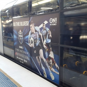 Train Advertising | Full Wrap