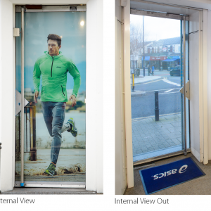 Retail Door | Full Wrap